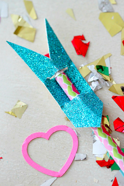"Valentines Day ""Cupids Arrow"" Pencil Toppers"