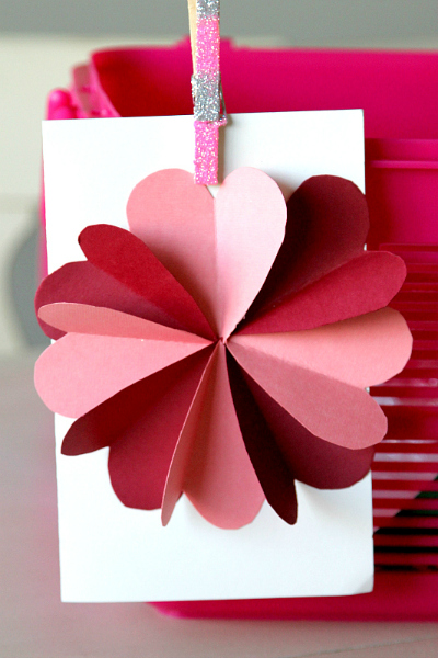 DIY Flower by Hearts Card Tutorial - MomDot