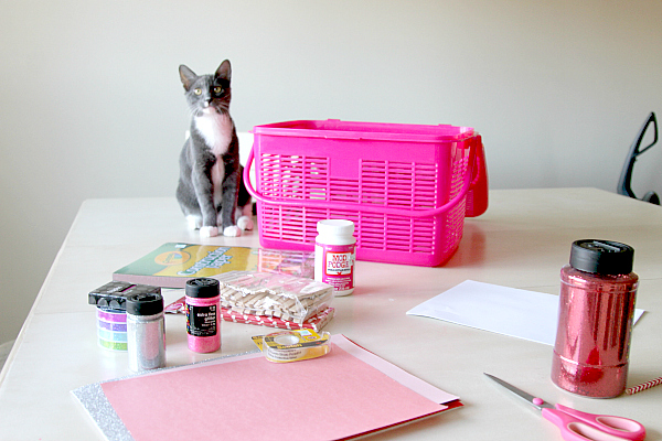 cat crafting