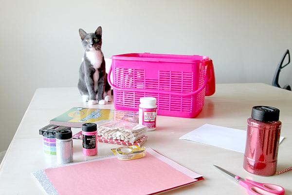cat crafting