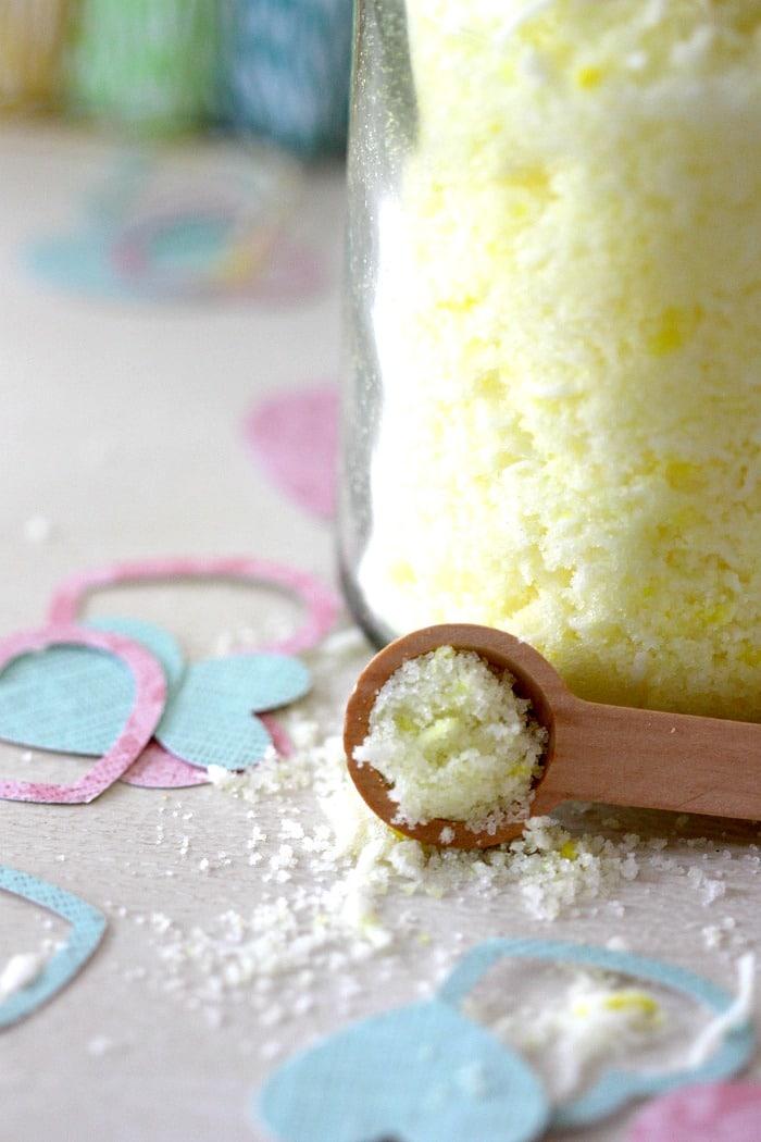 tutorial sugar scrub