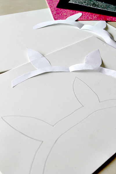 Bunny Ears Crafting with Kids (and cats!) , more at www.momdot.com