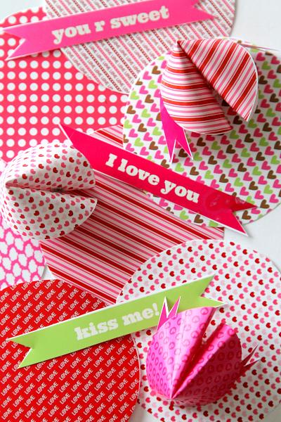 fortune cookie valentine printable
