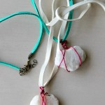 Wire Wrapped Rock Necklace (Kids!)
