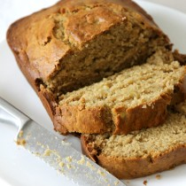 Recipe for Easy Apple Banana bread without Crushing up apples..here is how.