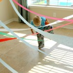 5 Minute Spy Laser Obstacle Course for Kids