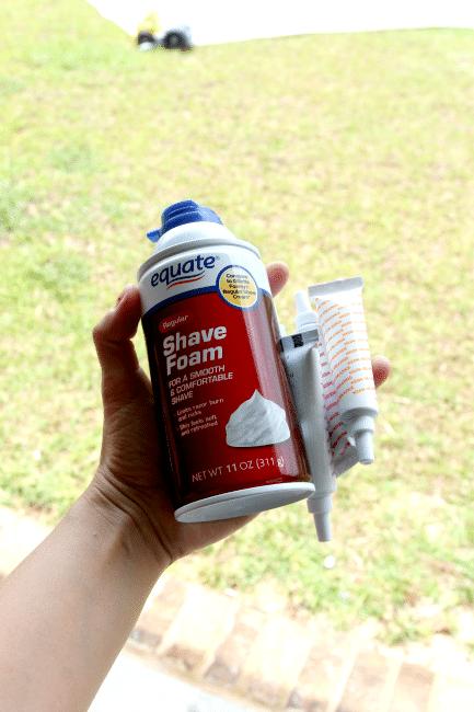 Shaving Cream Slip N Slide Cause Why Not