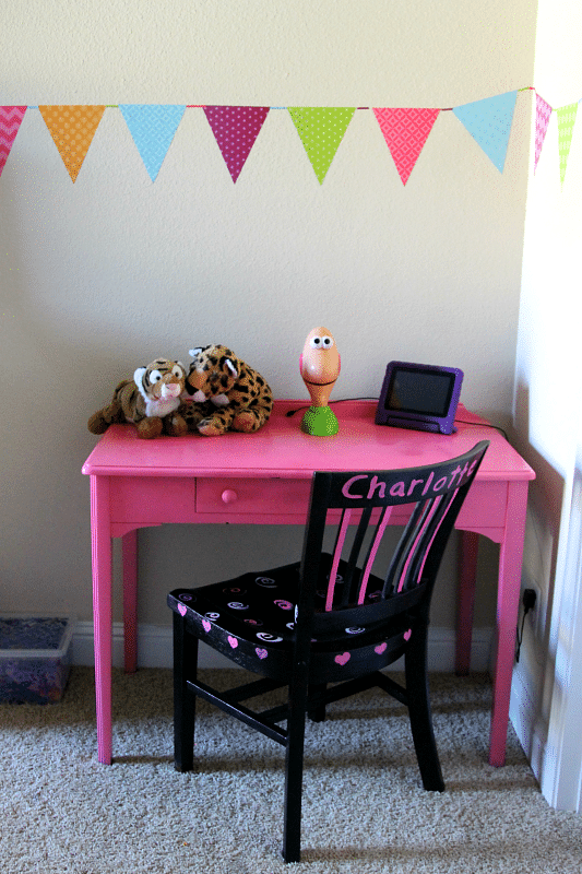 Elegant In the end I would have to say we BOTH loved the difference in the before and after Her room is one she is proud of and the exclusive Hello Kitty items
