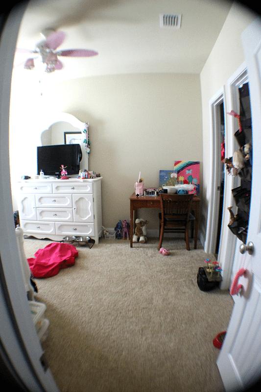 Hello Kitty Room Makeover
