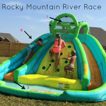 Rocky Mountain River Racer water slide little tikes