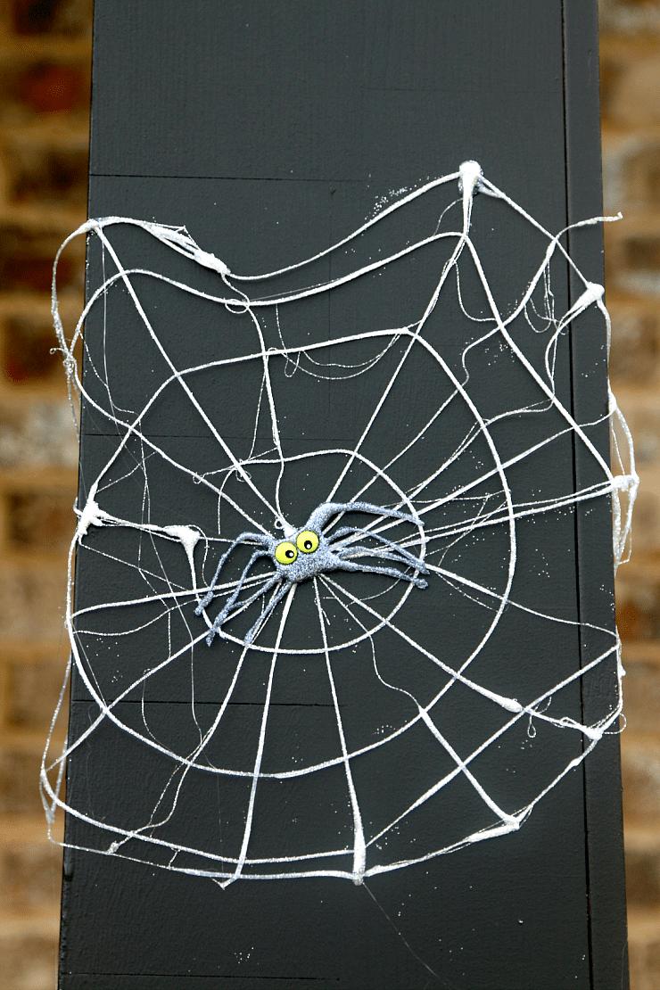 DIY Spider Webs