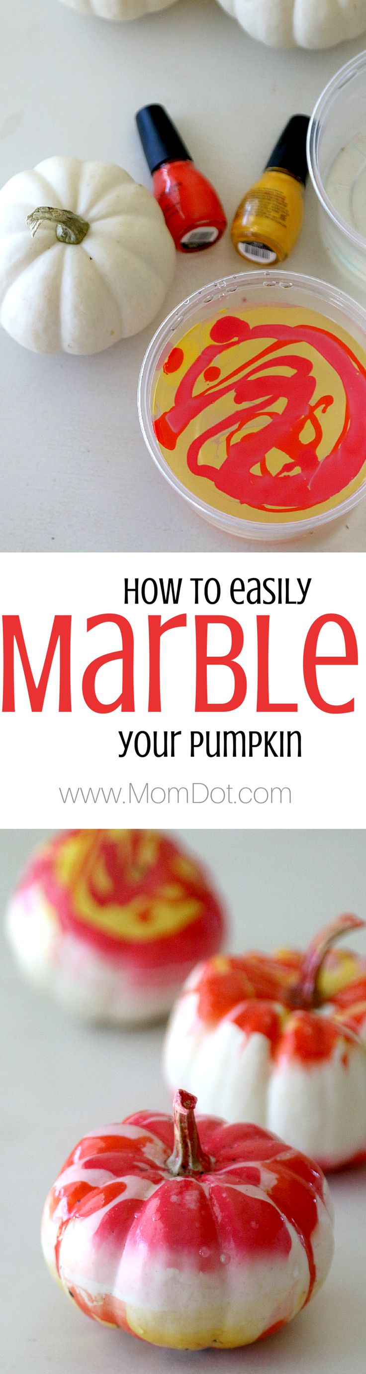 Marbling a pumpkin, perfectly easy for all holiday fall decor and personalize to pick your own statement colors! Love this thanksgiving and winter craft, inexpensive and forgiving craft, DIY!