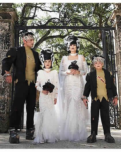frankenstien costumes for halloween family