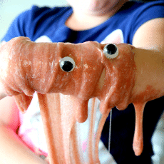 Make Halloween Slime without Borax, Recipe for Slime, fun kids activity