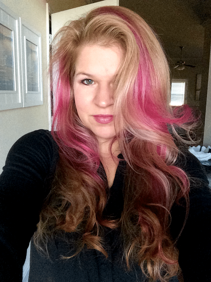 Punky Colour Flamingo I Dyed My Hair Hot Pink