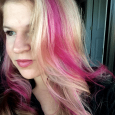 hot pink highlights