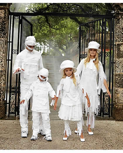 mummy family costumes