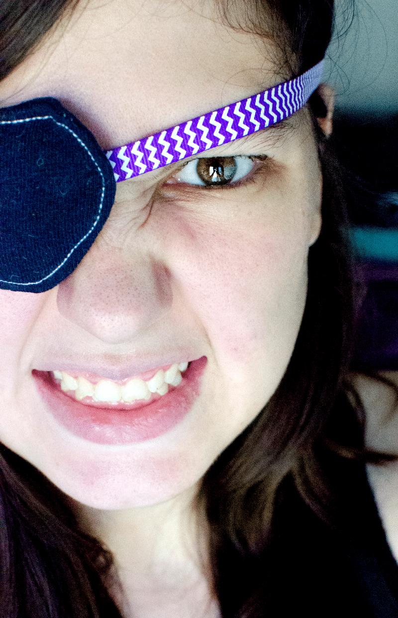 pirate patch DIY