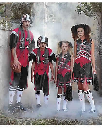 zombie family costumes halloween