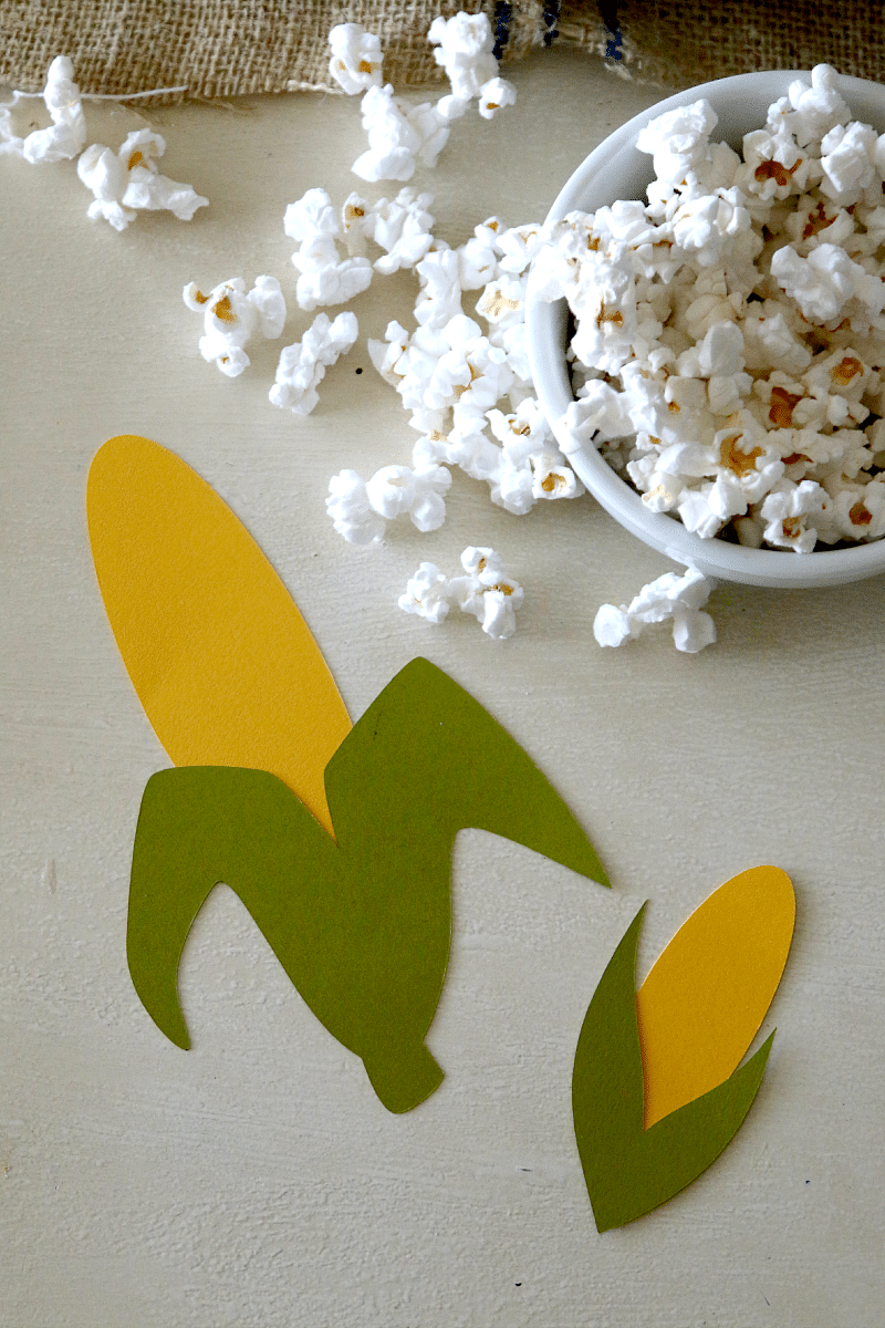 Thanksgiving Corn on the Cob craft for kids