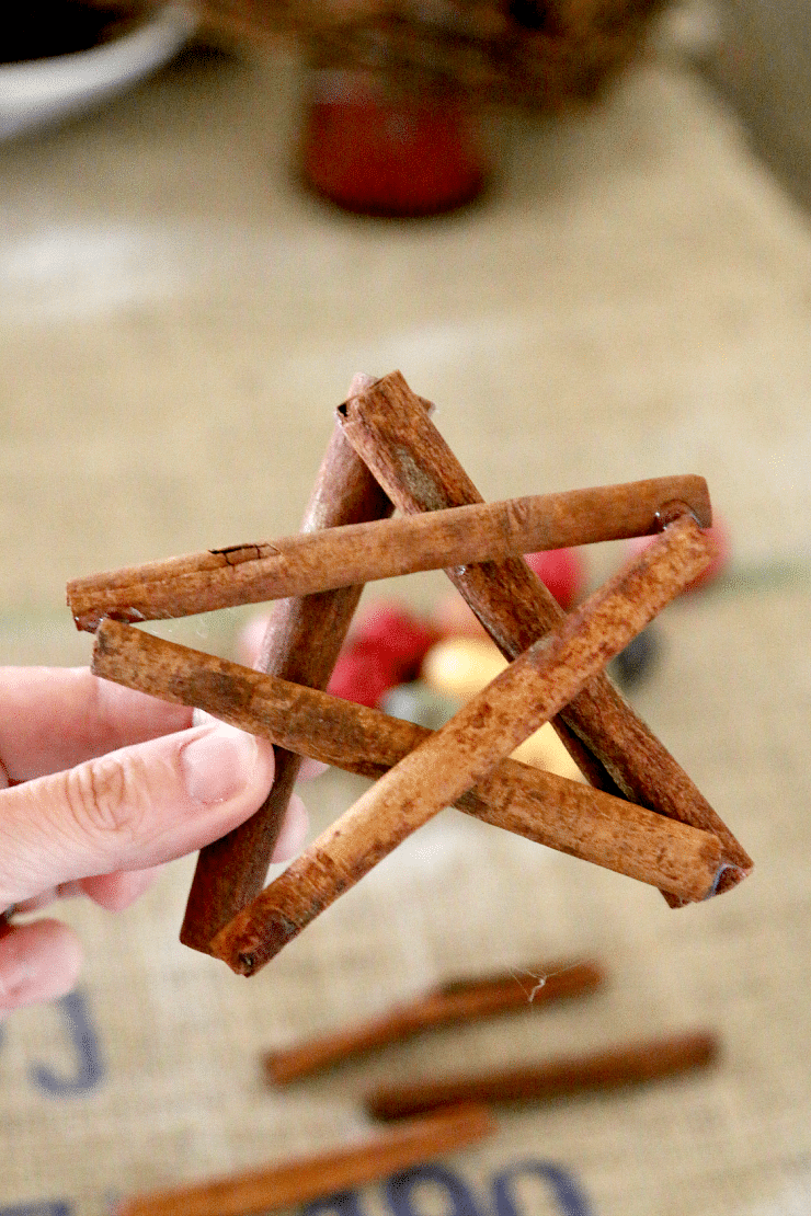 How to make a cinnamon stick star ornament How to make the house smell like cinnamon