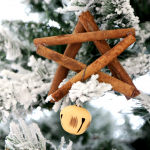 how to make a cinnamon stick ornamant