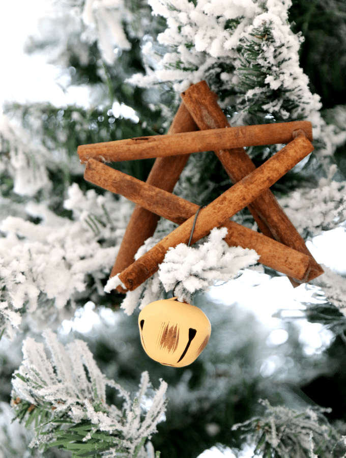 How to make a Cinnamon Stick Star Ornament