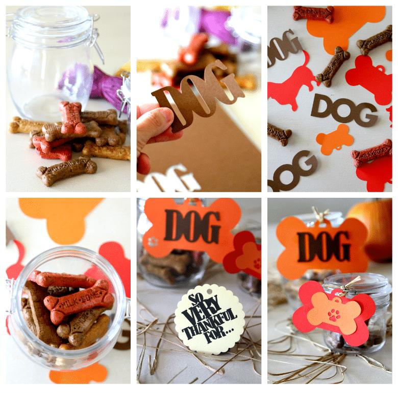 thankful dog treat jars