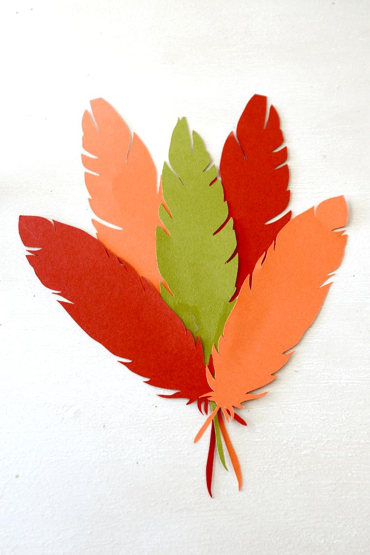 thanksgiving turkey hat tutorial