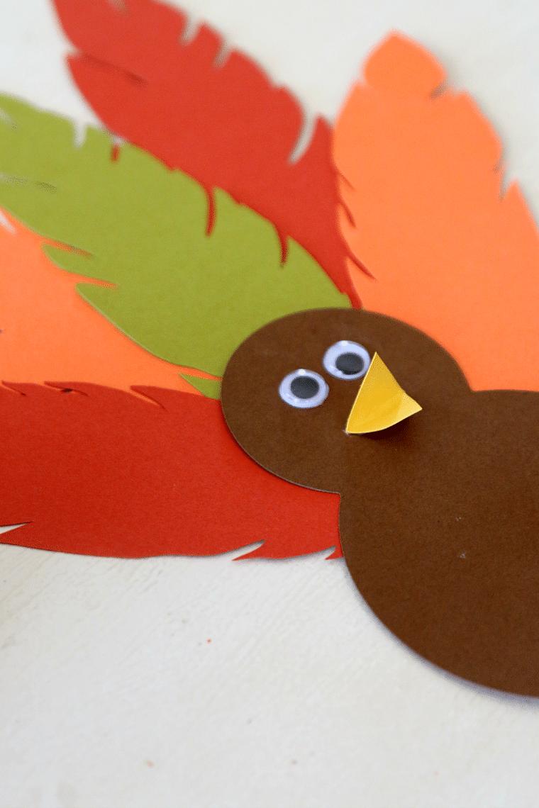 Turkey Hat Thanksgiving Headband Craft for Kids