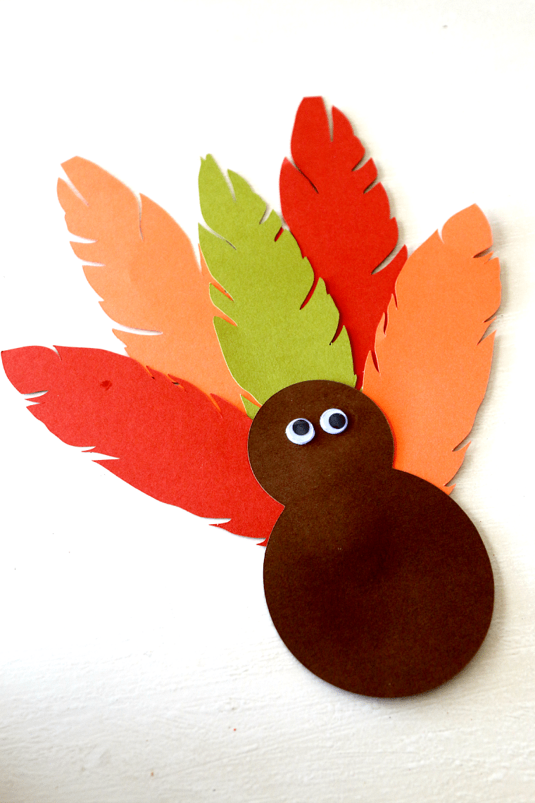 Turkey hat thanksgiving headband craft for kids for Craft hats for kids