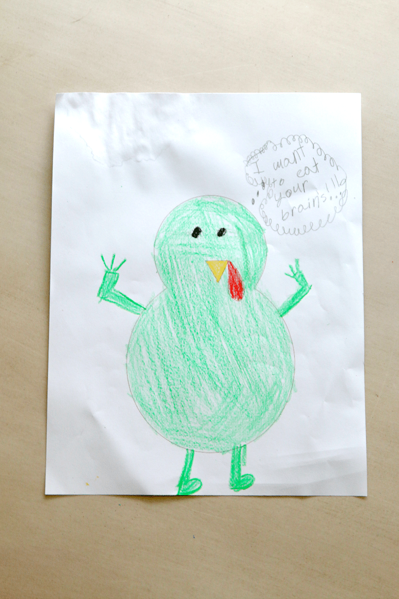 Turkey in Disguise, plus free Turkey in Disguise Printable to download! Fun thanksgiving tradition