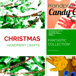 10 handprint craft collection perfect for ornaments, classrooms, at home playtime! Get your toes and hands all painted up for some sensory fun