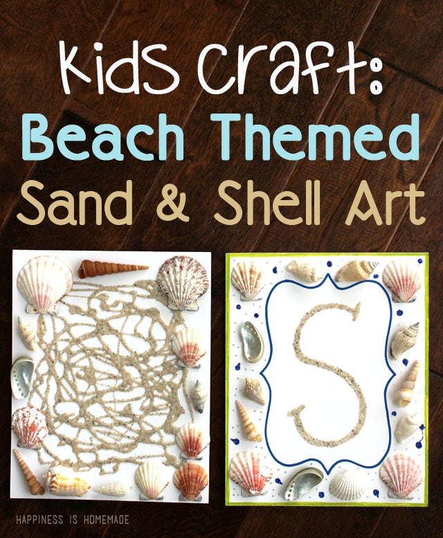 beach themed sand art