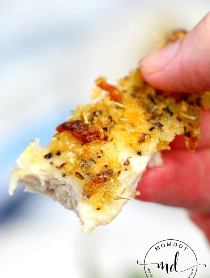 Parmesan Crusted Chicken: 3 Ingredients