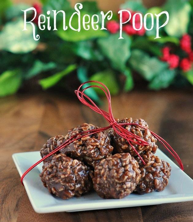 Reindeer Poop Cookie Recipe | Beanstalk Mums