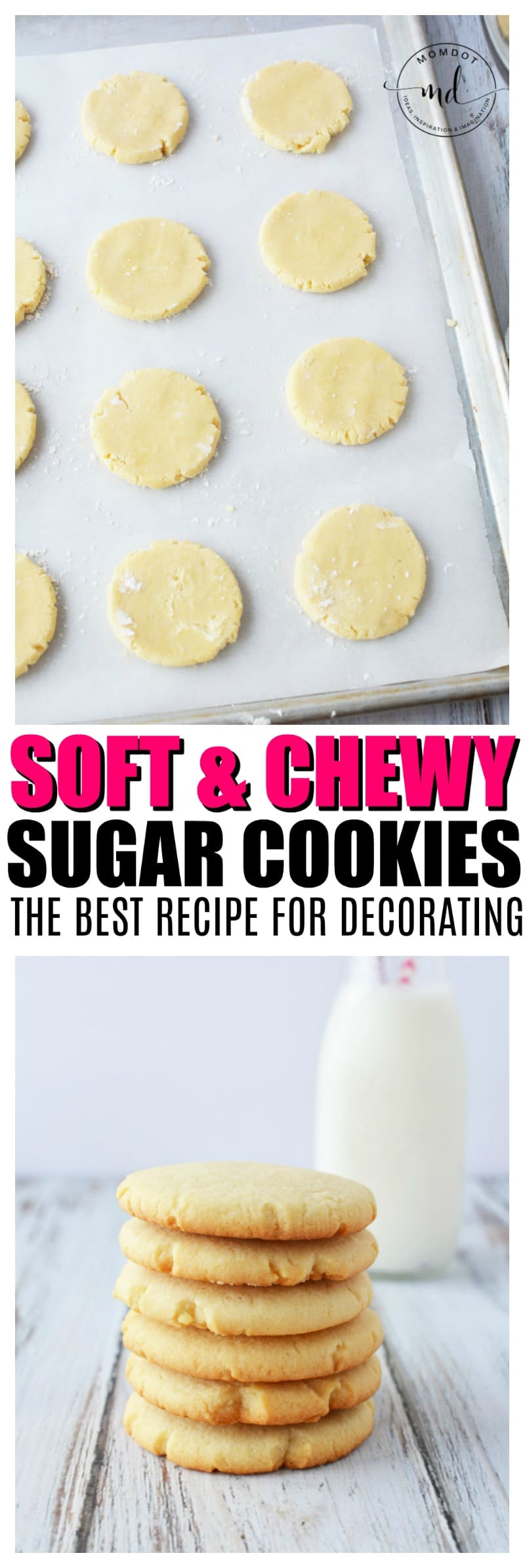 SUGAR COOKIES RECIPE