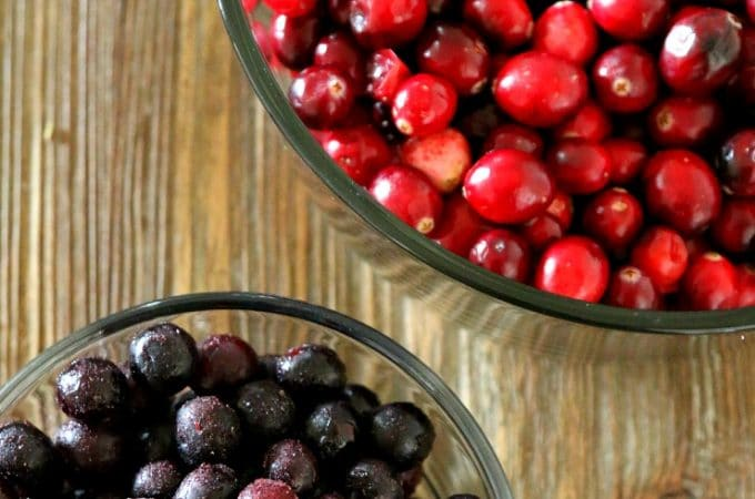 best cranberry sauce recipe, Cranberry Blueberry Sauce Recipe