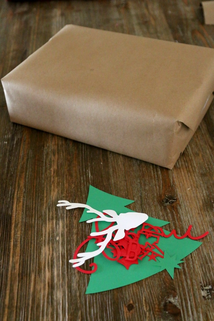 Custom 3d Wrapping Paper with any shape you like! See what we did