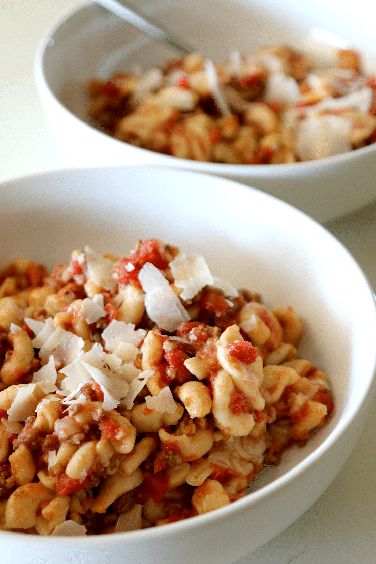 Poverty Meal Recipe, Goulash for an inexpensive family dinner that warms the soul