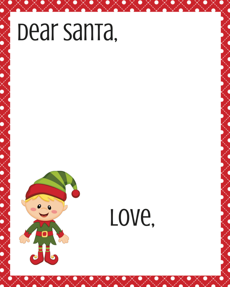 photograph regarding Printable Santa List referred to as Cost-free Expensive Santa Printable Fixed