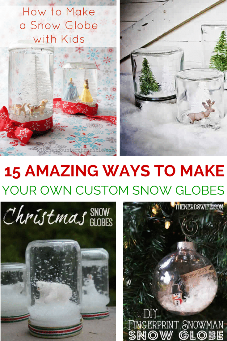 15 diy snow globe ideas
