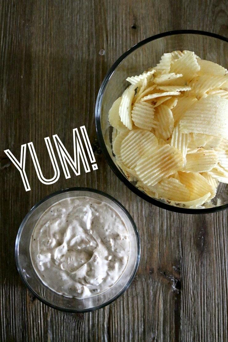three ingredient dip recipe