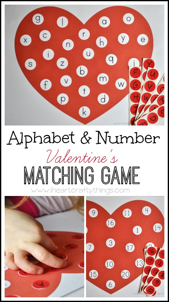 Alphabet and Number Matching Game
