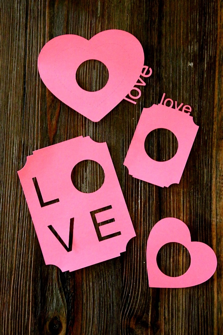 DIY EOS Valentines, perfect for tweens, teens and teachers, complete with FREE printabels and Silhouette files