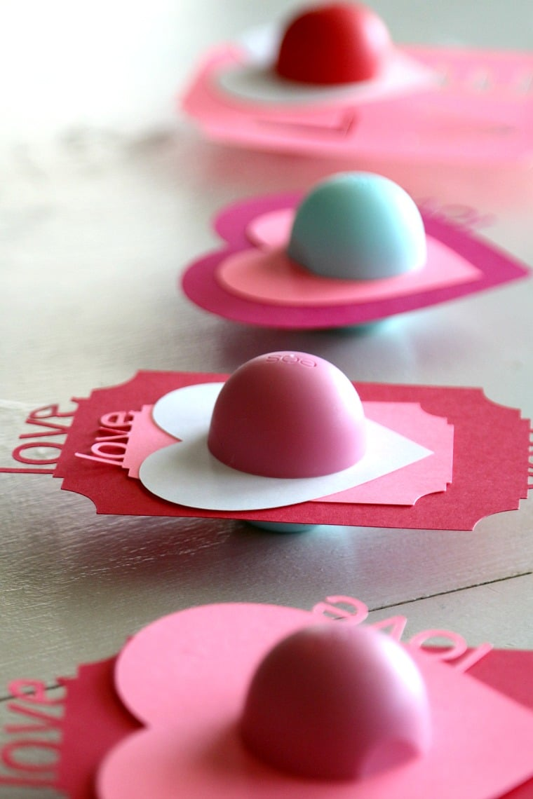 diy eos valentines perfect for tweens teens and teachers  plete