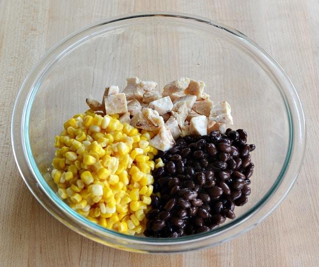 Mexican Chicken & Corn Casserole Recipe