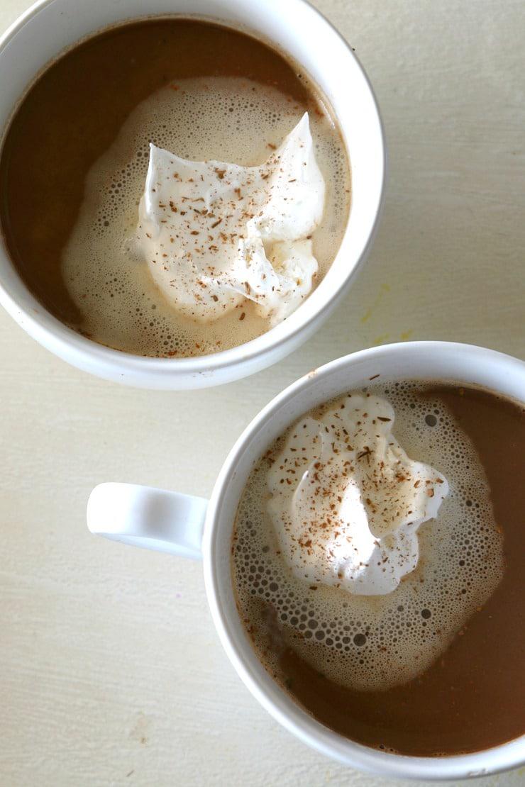 almond chocolate coffee