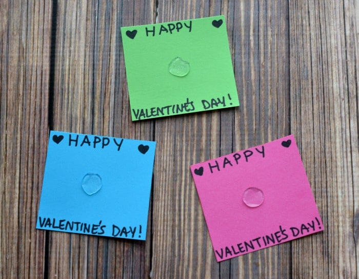 DIY Melted Crayon Heart Valentines