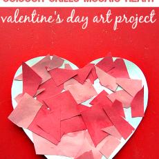 mosaic Heart valentine